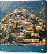 Positano  Acrylic Print by Francesco Riccardo  Iacomino