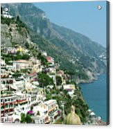 Positano In The Afternoon Acrylic Print