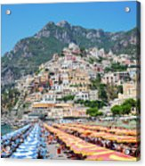 Positano Resort Acrylic Print