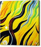 Positive Energy. Abstract Art Acrylic Print
