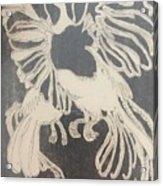 Positive Negative Birds  Acrylic Print