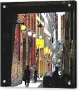 Post Alley Acrylic Print