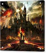 Post Apocalyptic Disneyland Acrylic Print