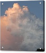Post Card Clouds Acrylic Print
