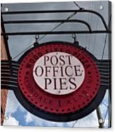 Post Office Pies Acrylic Print