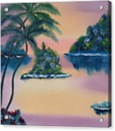 Postcard From The Keys Acrylic Print