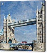Postcard Home Acrylic Print