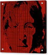 Poster Art Lennon Acrylic Print