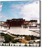 Potala Palace Dalai Lama Home Place. Tibet Kailash Yantra.lv 2016  Acrylic Print