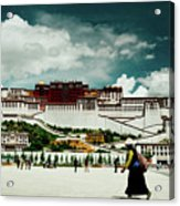 Potala Palace. Lhasa, Tibet. Yantra.lv Acrylic Print