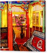 Potala Tea Room Acrylic Print