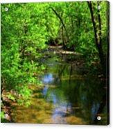 Potamac River In Maryland Acrylic Print