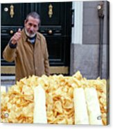 Potato Chip Man Acrylic Print