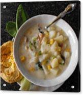 Potato Corn Chowder Acrylic Print