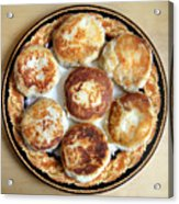Potato Cutlets With Chicken Filling Acrylic Print
