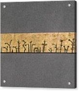 Potawatomi Medicine Stick Acrylic Print
