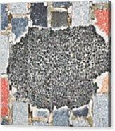 Pothole Repair Acrylic Print
