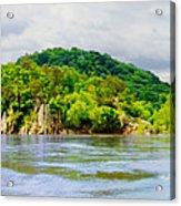 Potomac Palisaides Acrylic Print