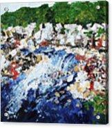 Potomac River At Great Falls  4 201687 Acrylic Print