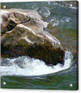 Potomac River Rapids Acrylic Print