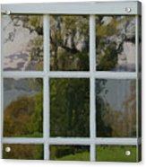Potomac River Valley On Mount Vernon Acrylic Print