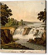 Potomac River: Waterfall Acrylic Print