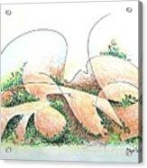 Potshards Acrylic Print