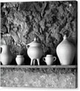 Pottery Acrylic Print