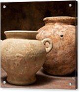 Pottery I Acrylic Print