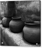 Pottery Tumacacori Arizona Acrylic Print
