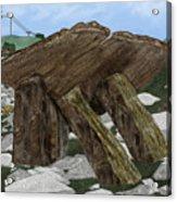 Poulnabrone Dolmen County Clare Ireland Acrylic Print
