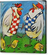 Poultry In Motion Acrylic Print