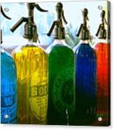 Pour Me A Rainbow Acrylic Print
