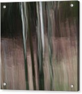 Pouring Down Acrylic Print