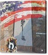 Pow Memorial Acrylic Print