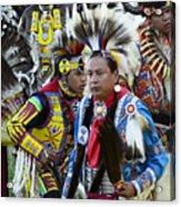 Pow Wow Back In Time 1 Acrylic Print