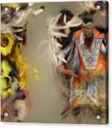 Pow Wow Beauty Of The Dance 1 Acrylic Print