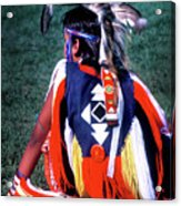 Pow-wow Colors Acrylic Print
