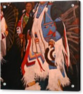 Pow Wow  Dancer  Acrylic Print