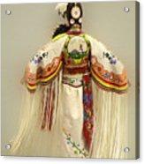 Pow Wow Traditional Dancer 3 Acrylic Print