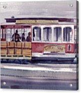 Powell And Mason Line Acrylic Print