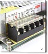 Power Adapter Acrylic Print