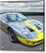 Power And Performance - Ford Gt40 Acrylic Print
