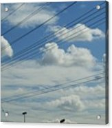 Power Clouds Acrylic Print