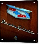 Power Glide Acrylic Print