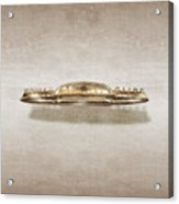 Power Glide Hood Emblem Acrylic Print