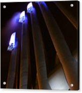 Power Glow Acrylic Print by Barbara  White