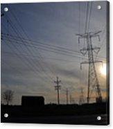 Power Grid Acrylic Print