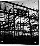 Power Grid In Oregon Acrylic Print