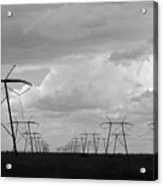 Power In The Sky Acrylic Print